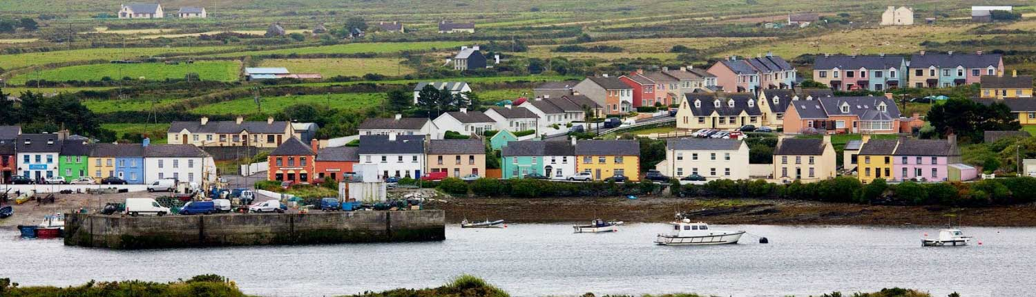 Portmagee Harbour Kerry