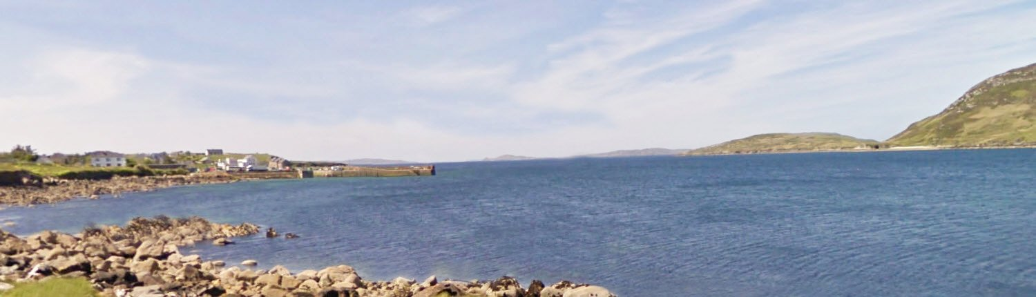 Cleggan Harbour (Embarkation Point for Inishbofin), County Galway