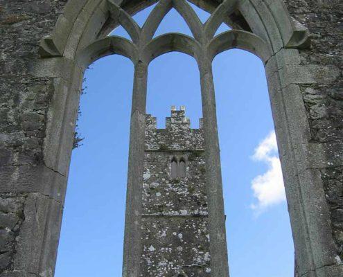 Kylemore Abbey Ruins