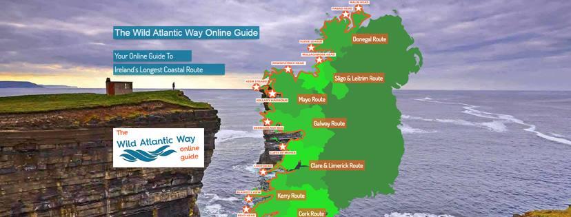 Wild Atlantic Way Map And Online Guide Wild Atlantic Way