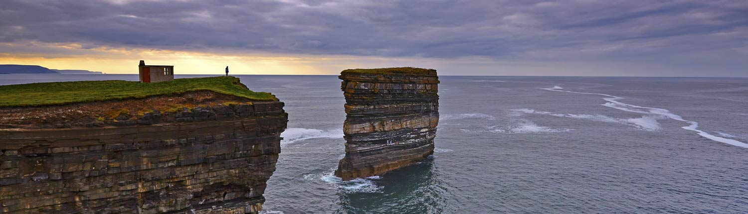 Downpatrick Head County Mayo, Wild Atlantic Way Signature Discovery Point