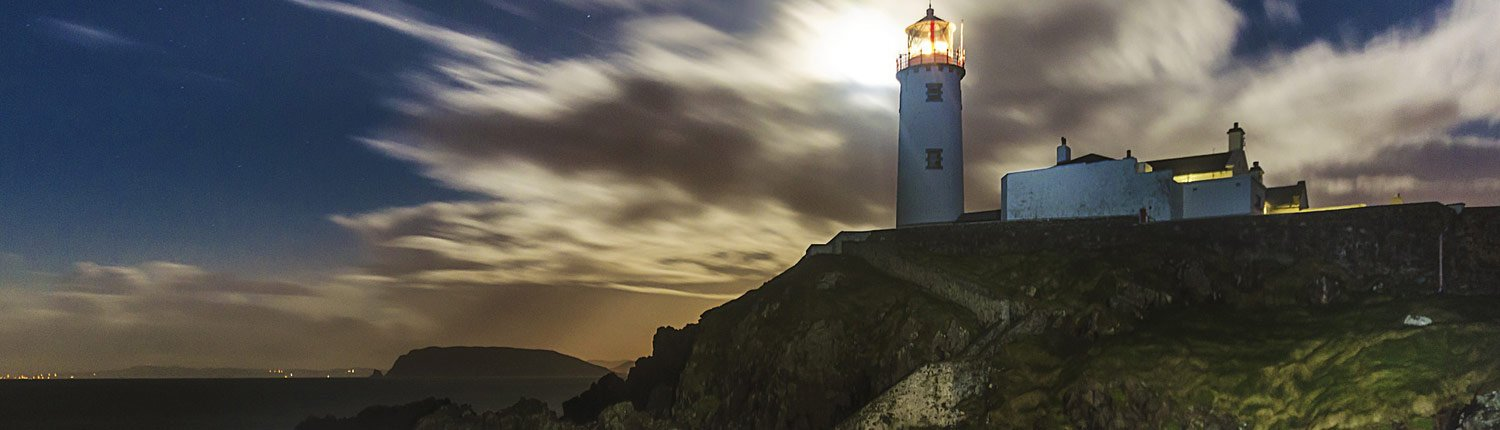 Fanad lighthouse Donegal Wild Atlantic Way Ireland