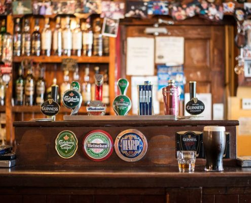 Irish Pub in Cong County Mayo Ireland