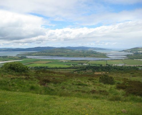 Inch Island on Wild Atlantic Way Donegal