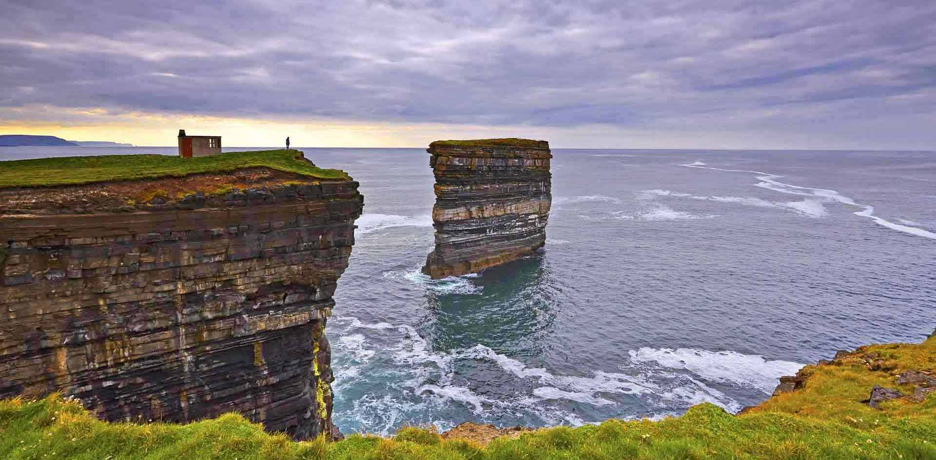 Ireland wild atlantic way online guide map