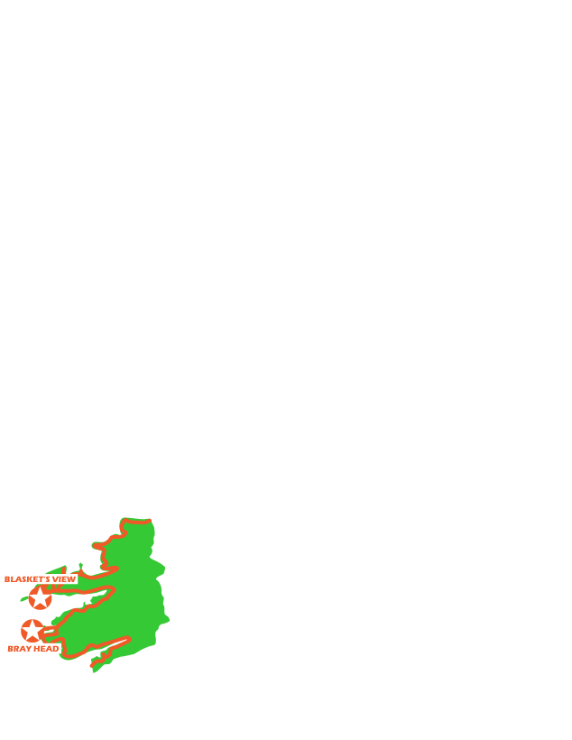 map of Kerry