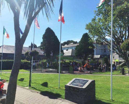 Children's Playground in Kinsale Harbour