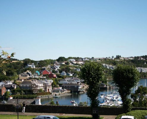 Elevated View of Kinsale County Cork
