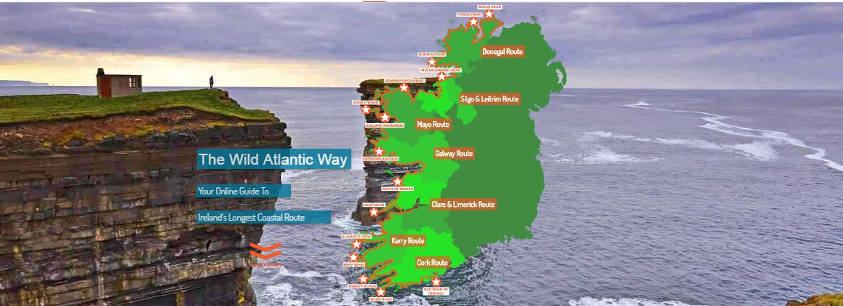 New Wild Atlantic way Online Guide Website