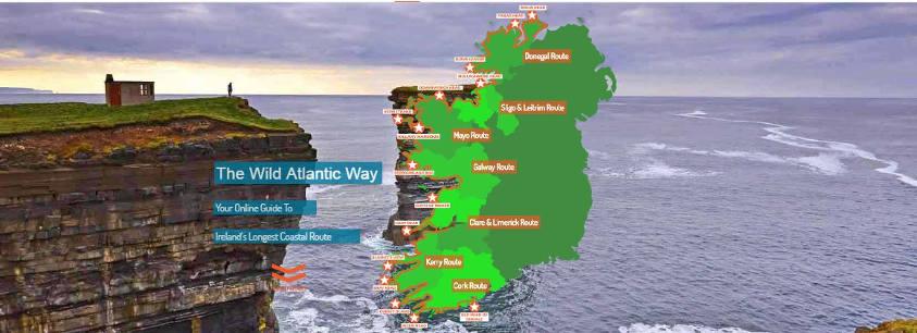 New Wild Atlantic way Online Guide Website