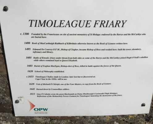 Timoleague Abbey Wild Atlantic Way Cork Discovery Point 6
