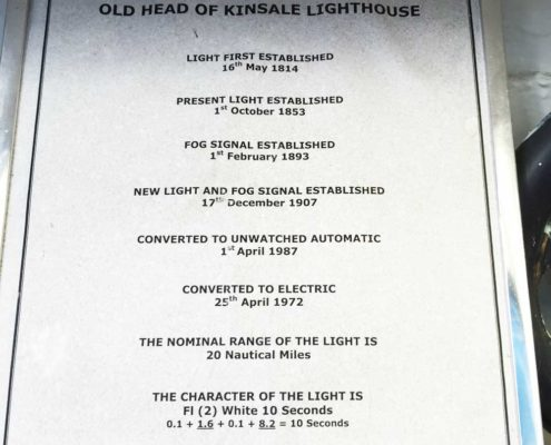 Facts about Old Head of Kinsale lighthouse