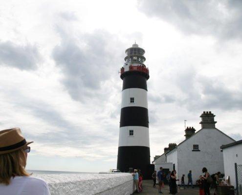 Old Head of Kinsale Lighthouse on the Wild Atlantic Way Cork