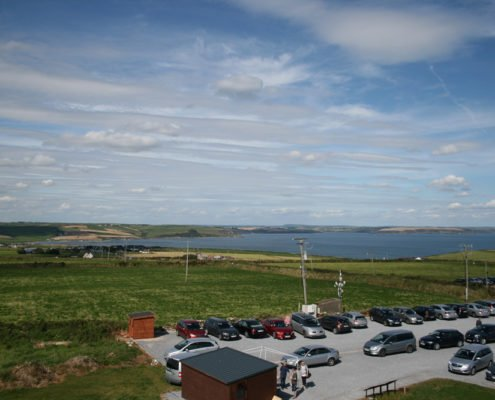 View of countryside from Old Head of Kinsale Signal Tower 2