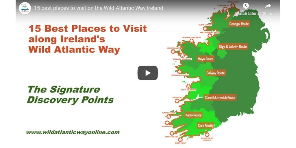 15 best places to visit on the Wild Atlantic Way Ireland