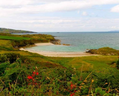 Beach on Sherkin Island County Cork