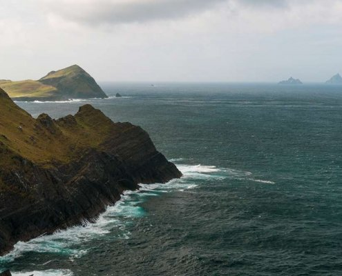 Kerry Cliffs Skellig Islands View Point 2