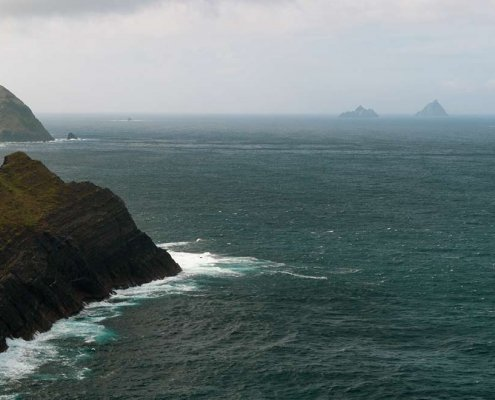 Kerry Cliffs Skellig Islands View Point
