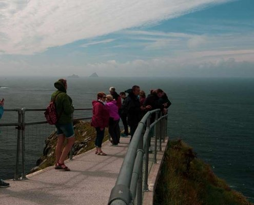 Kerry Cliffs Skelligs View Wild Atlantic Way Ireland