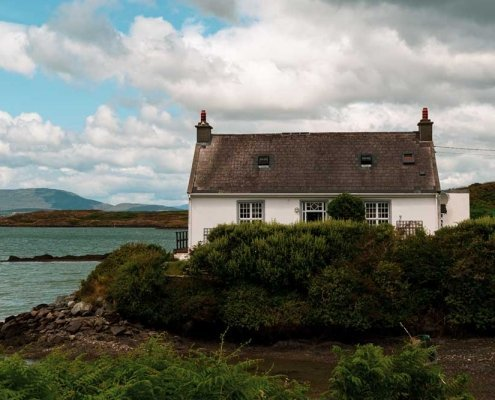 Pretty House on Sherkin Island County Cork