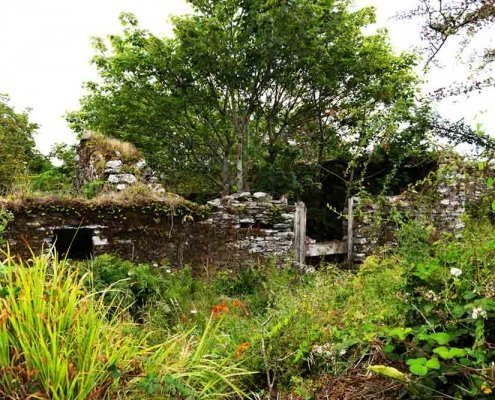 Ruined cottage on Sherkin Island County Cork