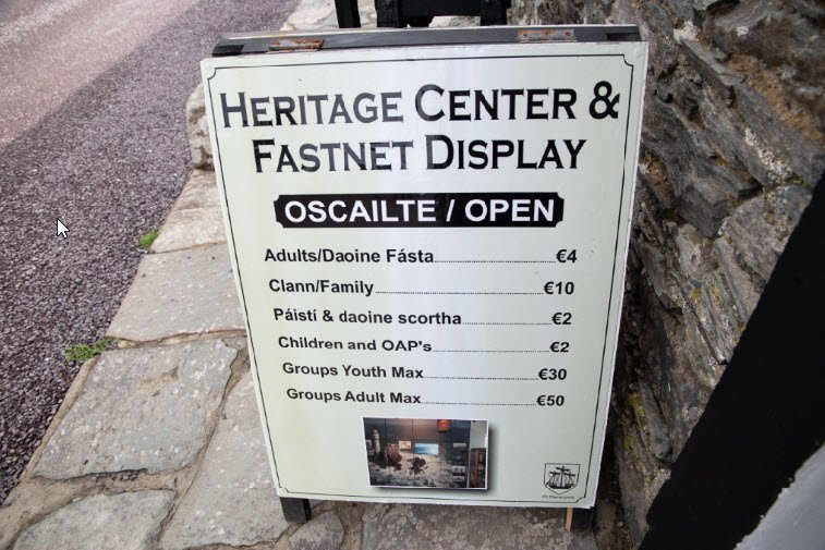 Clear Island Heritage Centre Prices