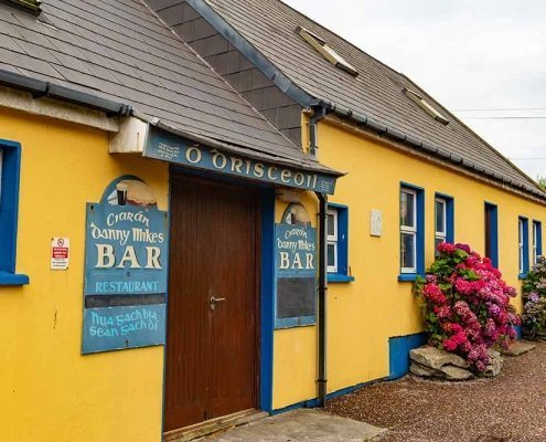 Old Pub on Cape Clear Island County Cork