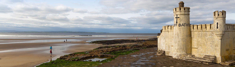 Cliff Baths at Inishcrone Pier Sligo